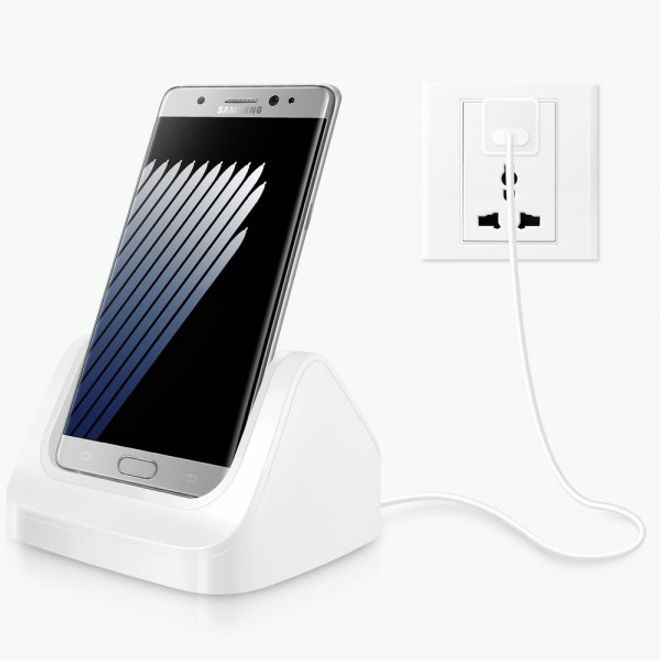 usb typ c dockingstation ladestation f r samsung galaxy. Black Bedroom Furniture Sets. Home Design Ideas