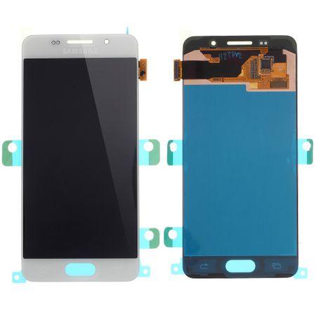 OEM - Samsung Galaxy A3 (2016 Edition) LCD Display und Digitizer Ersatzteil - weiss