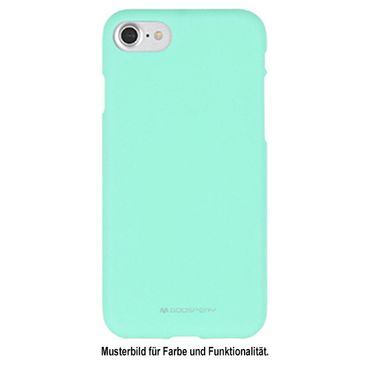 Mercury Goospery - iPhone 8 Plus / 7 Plus Handy Cover - Softcase aus sanftem TPU Plastik - SF Jelly Series - mint