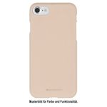 Goospery - Samsung Galaxy J3 (2016) Handy Cover - TPU Soft Case - SF Jelly Series - rosegold
