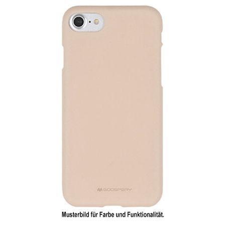 Goospery - Galaxy S6 Edge Handy Cover - TPU Soft Case - SF Jelly Series - rosegold