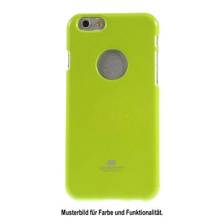 Goospery - Handy Case für Motorola Moto G5 - TPU Softcase - Pearl Jelly Series - lime