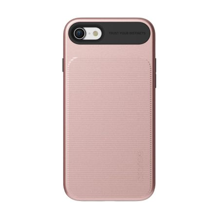 Araree - iPhone 8 / 7 Handyhülle - Softcase aus TPU Plastik - Amy Series - rosegold