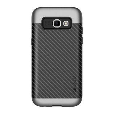 Araree - Samsung Galaxy A3 (2017 Edition) Handyhülle - Softcase aus TPU Plastik - Amy Classic Series - schwarz