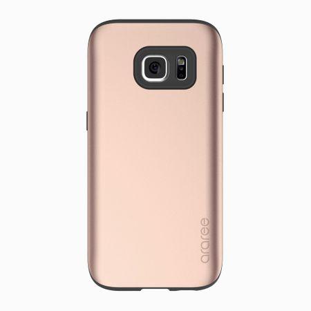 Araree - Samsung Galaxy S7 Handyhülle - Softcase aus TPU Plastik - Amy Series - champagnerfarben