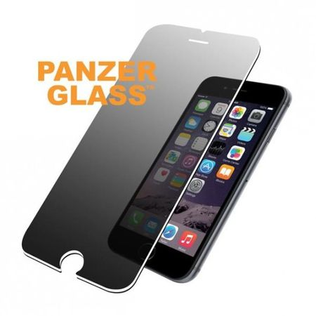 PanzerGlass - iPhone 8 / 7 Displayschutz aus gehärtetem Glas - Privacy (P2003) - transparent