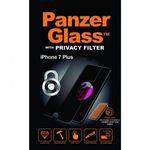PanzerGlass - iPhone 8 Plus / 7 Plus Displayschutz - Privacy (P2629) - transparent