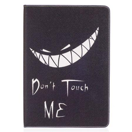 iPad Pro 10.5 Tablet Hülle - Case aus Leder - fieses Gesicht und Spruch