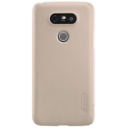 Nillkin - LG G5 Hülle - Plastik Case - Super Frosted Shield Series - inklusive Schutzfolie - gold
