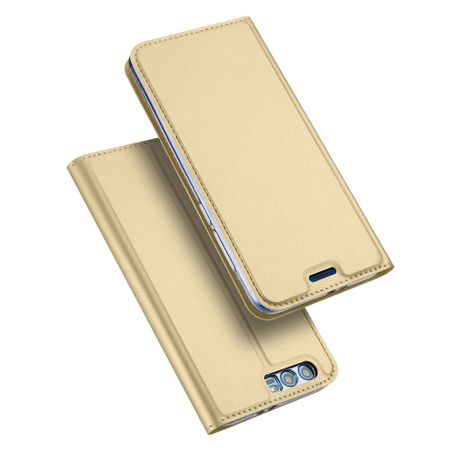 Dux Ducis - Huawei Honor 9 Handy Hülle - Case aus Leder - Skin Pro Series - gold