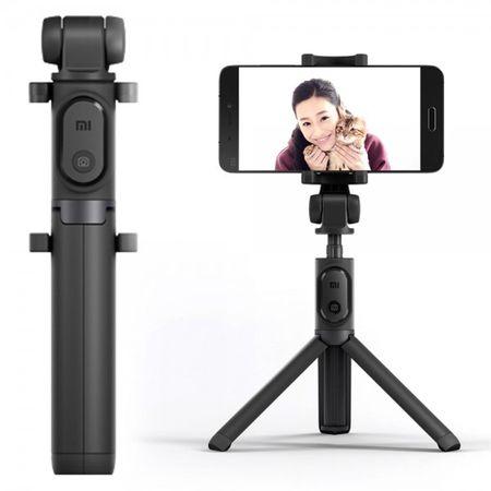 Xiaomi - Mi Selfie Stick Tripod mit Bluetooth Fernauslöser - Handy Stativ 360° drehbar - schwarz