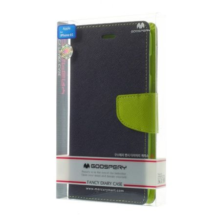 Goospery - iPad Pro 10.5 Hülle - Tablet Bookcover - Fancy Diary Series - navy/lime