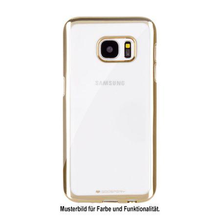 Mercury Goospery - Gummi Cover für Samsung Galaxy A3 (2017 Edition) - Handyhülle aus Gummi - Ring 2 Series - gold