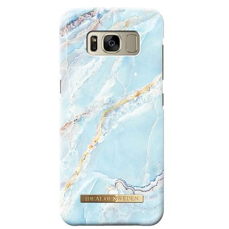iDeal of Sweden - Fashion Marmor Handy Hülle für Samsung Galaxy S8 - blau