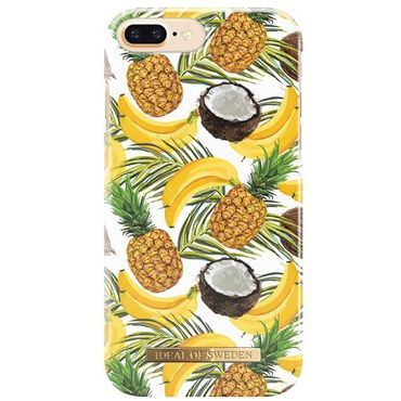 iDeal of Sweden - iPhone 8 Plus / 7 Plus / 6S Plus / 6 Plus Handyhülle, Designer Case Banana Coconut - mehrfarbig