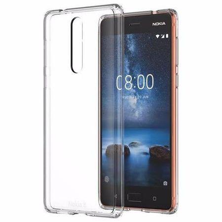 Nokia - Original Nokia 8 Handyhülle, Hybrid Case - transparent