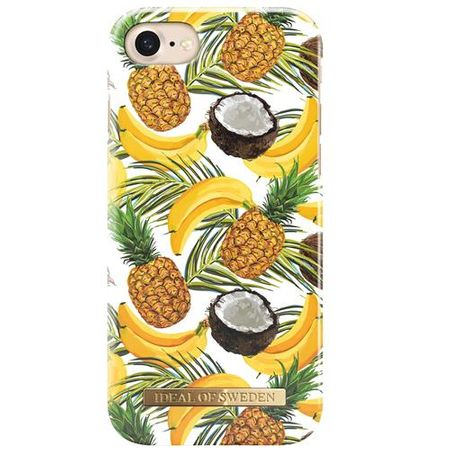 "iDeal of Sweden - iPhone 8 / 7 ""Banana Coconut"" Handy Hülle - Designer Case - mehrfarbig"