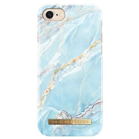 iDeal of Sweden - iPhone 8 / 7 / 6S / 6 Fashion Marmor Handy Hülle - Designer Case - blau
