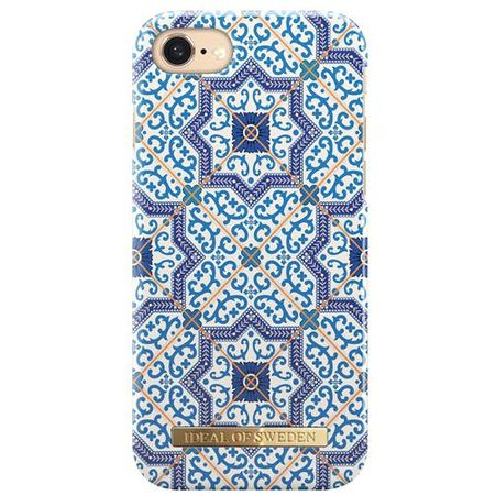 "iDeal of Sweden - iPhone 8 / 7 ""MARRAKECH blue"" Handy Hülle - Designer Case - blau"