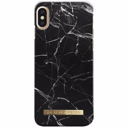 iDeal of Sweden - iPhone XS / X Handyhülle, Designer Case BLACK MARBLE - schwarz