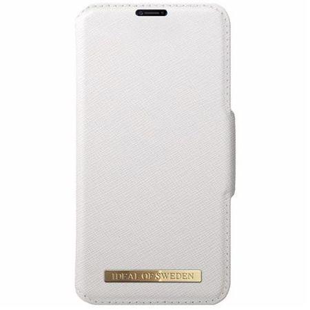 iDeal of Sweden - iPhone XS / X Handyhülle, Designer Bookcase FASHION - weiss