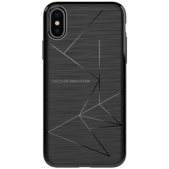Nillkin Nillkin - iPhone X Handy Case - Hülle aus Plastik - Magic Series - schwarz