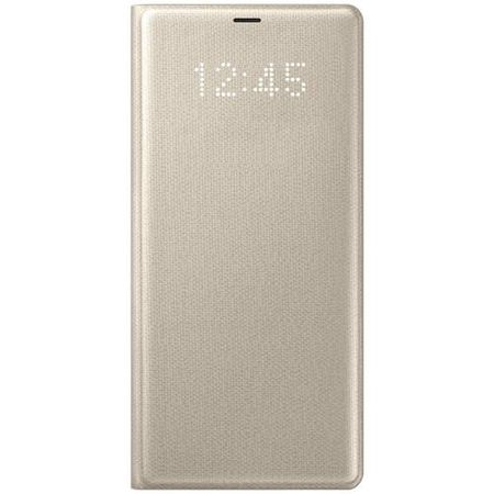 Samsung - Original Galaxy Note 8 Handyhülle - LED View Cover - EF-NN950PF - gold
