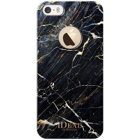 """iDeal of Sweden - iPhone SE/5S/5 Fashion """"PORT LAURENT"""" Marmor Handy Hülle - Designer Case - schwarz"""