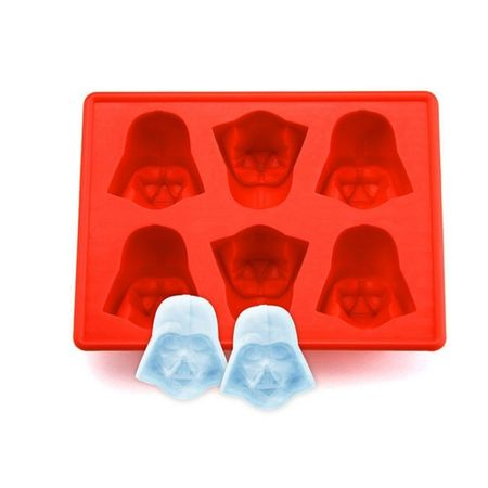 Star Wars Ice Cube - Eiswürfel Form aus Silikon - Darth Vader