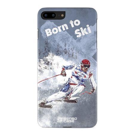 Sensocase - iPhone 6S / 6 Handyhülle - Designer Case Skiing - mehrfarbig