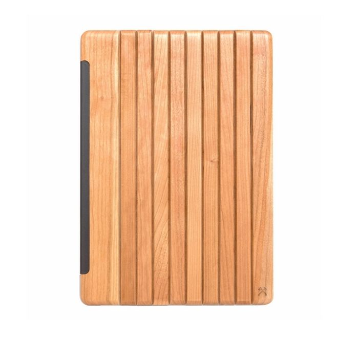 WOODCESSORIES WOODCESSORIES - iPad Pro 10.5 Hülle (2017) - Echtholz Case - EcoGuard - Kirschfarben/Transparent