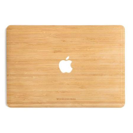WOODCESSORIES - Macbook 13 Air & Pro Echtholz Skin - EcoSkin - Bambus