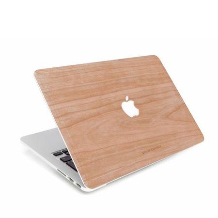 WOODCESSORIES - Macbook 15 Pro Retina Echtholz Skin - EcoSkin - Kirschfarben