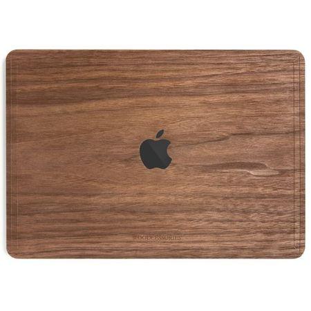 WOODCESSORIES - Macbook 15 Pro Touchbar Echtholz Skin - EcoSkin - Walnuss
