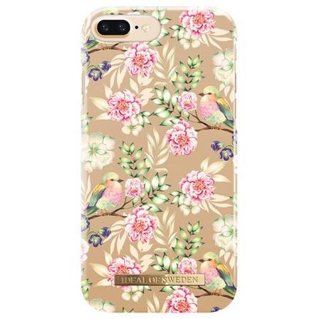 iDeal of Sweden - iPhone 8 Plus / 7 Plus / 6S Plus / 6 Plus Handyhülle, Designer Case CHAMPAGNE BIRDS - mehrfarbig