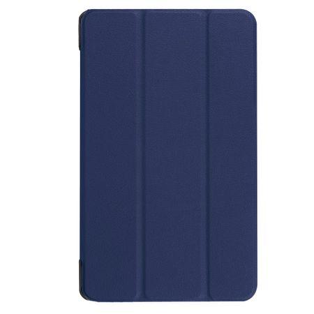 Samsung Galaxy Tab A 8.0 (2017) Tablet Hülle - dreifach faltbar - dunkelblau