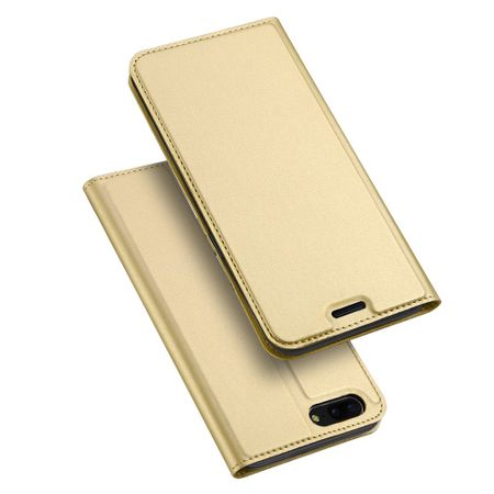 Dux Ducis - OnePlus 5 Hülle - Handy Bookcover - Skin Pro Series - gold