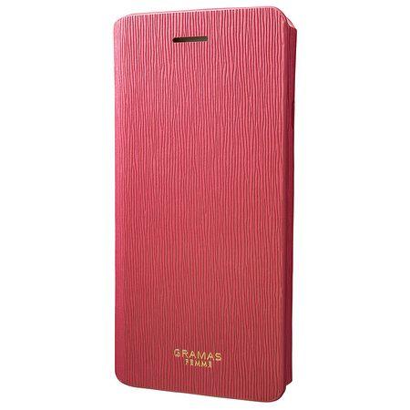 GRAMAS - iPhone 8 / 7 Handyhülle aus Kunstleder - Colo Series FLC246 - pink