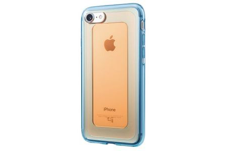 GRAMAS - iPhone 8 / 7 Handyhülle - GEMS Hybrid Case Series GHC466  - Made in Japan - orange/blau