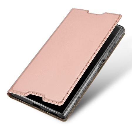 Dux Ducis - Sony Xperia XA1 Plus Hülle - Handy Bookcover - Skin Pro Series - rosegold