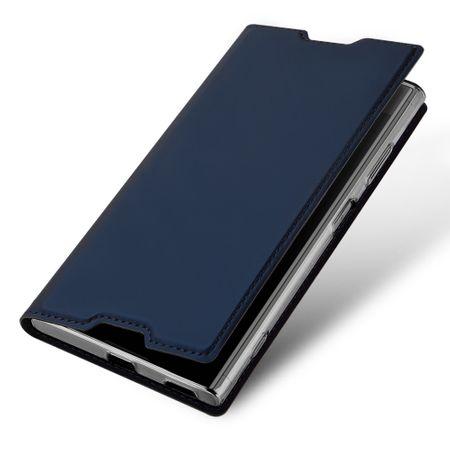 Dux Ducis - Sony Xperia XA1 Plus Hülle - Handy Bookcover - Skin Pro Series - blau