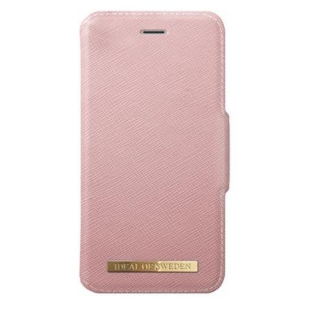 iDeal of Sweden - iPhone 8 / 7 Handyhülle, Designer Bookcase FASHION - pink