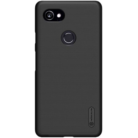 Nillkin - Google Pixel 2 XL Hülle - Plastik Case - Super Frosted Shield Series - schwarz