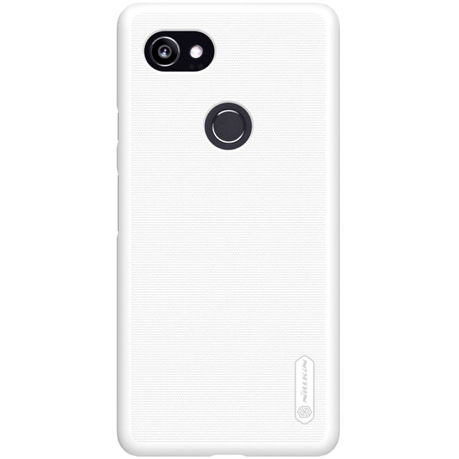 Nillkin Nillkin - Google Pixel 2 XL Hülle - Plastik Case - Super Frosted Shield Series - weiss
