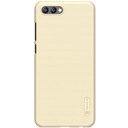 Nillkin - Huawei Honor View 10 Hülle - Plastik Case - Super Frosted Shield Series - gold