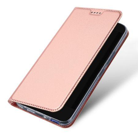 Dux Ducis - HTC U11 Life Hülle - Case aus Leder - Skin Pro Series - rosegold