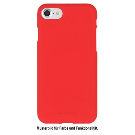 Goospery - Huawei Mate 10 Pro Handy Cover - TPU Soft Case - SF Jelly Series - rot