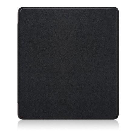 Amazon Kindle Oasis 7 Zoll (2017) Leder Smart Hülle - Case aus Leder - schwarz