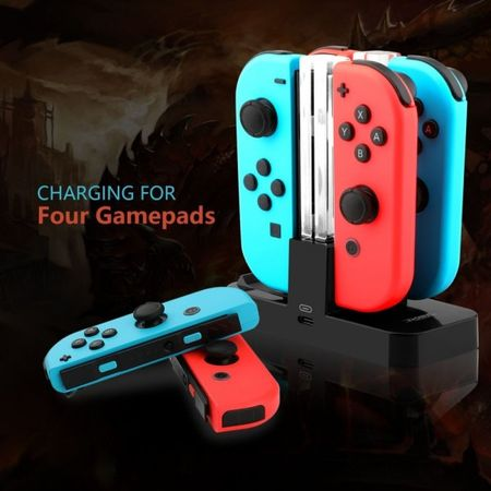 Dobe - Nintendo Switch Multi-Port Ladestation Dockingstation - lädt die Original Joy-Cons, Gamepads und Nintendo Switch