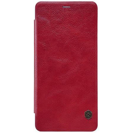 Nillkin - Samsung Galaxy A8 (2018) Hülle - Leder Book Case - Qin Series - rot